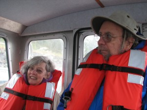 Pat & Pete in their KOPL life Jackets