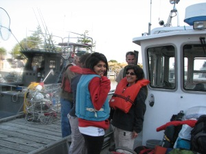 Docents leaving for Patos Island